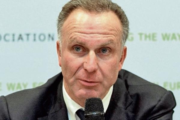 Karl-Heinz Rummenigge, presidente de la Asociación Europea de Clubes. (Foto Prensa Libre: EFE).