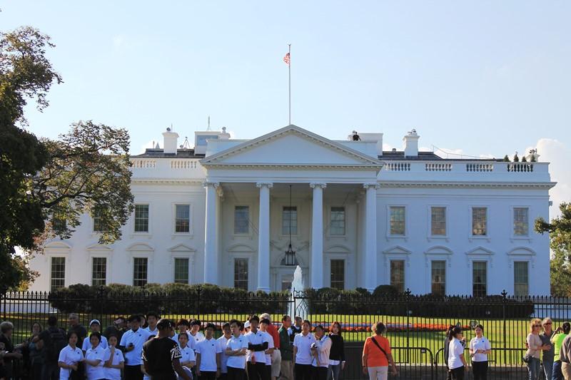 Los próximos huéspedes de la Casa Blanca se elegirán en medio de unas elecciones polémicas. (Foto Prensa Libre: Antonio Barrios A.)
