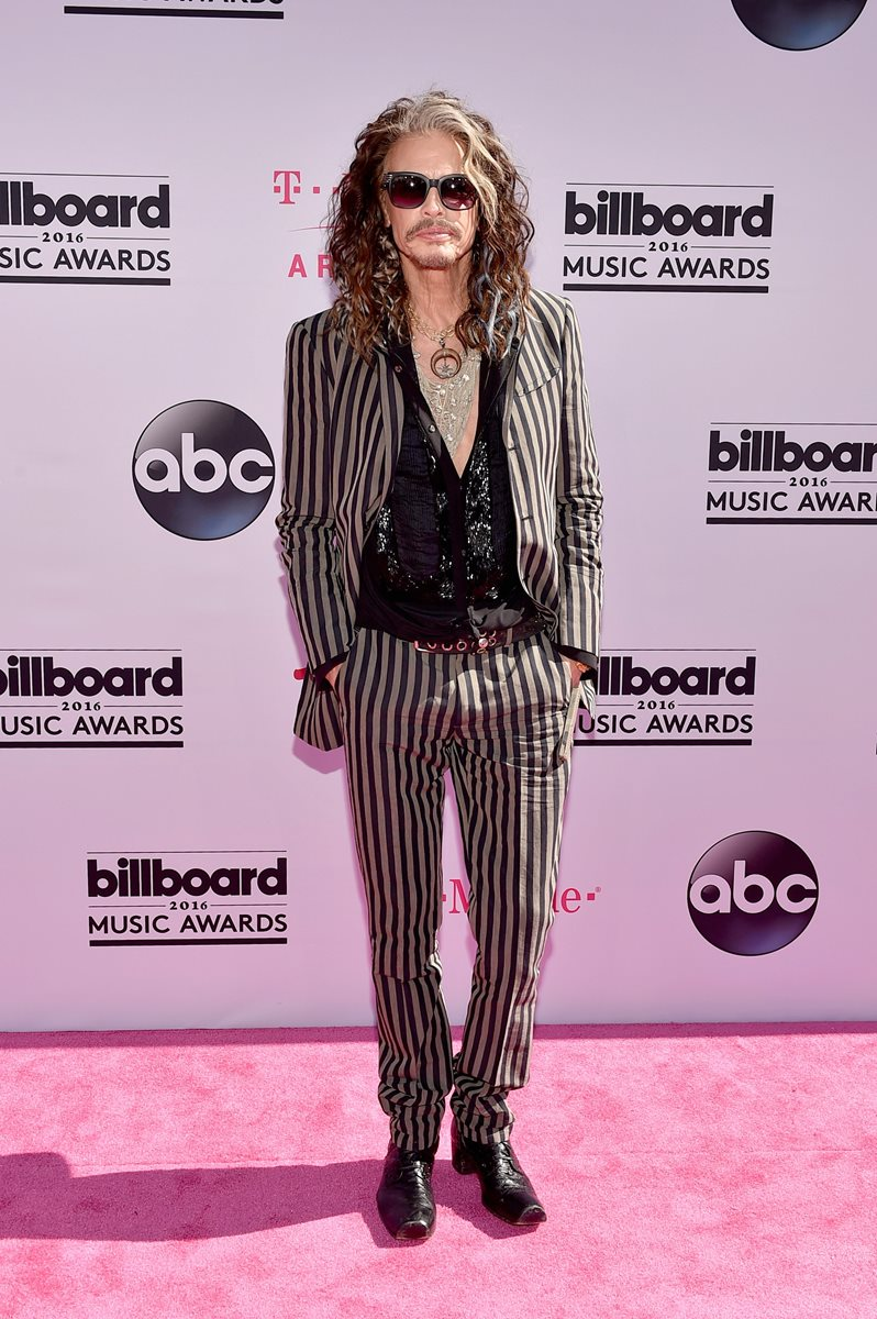El legendario rockero Steven Tyler