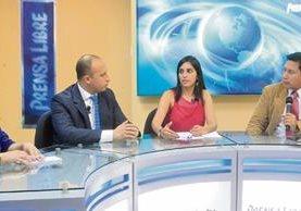 Pedro Cruz y Andrea Morales —al centro— fueron los invitados en Decisión Libre.