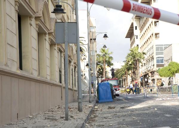 El sismo de 6.3 grados en Melilla, donde ha causado daños en edificios.