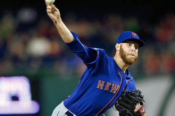 Zack Wheeler, jugador de los Mets. (Prensa Libre: AP)