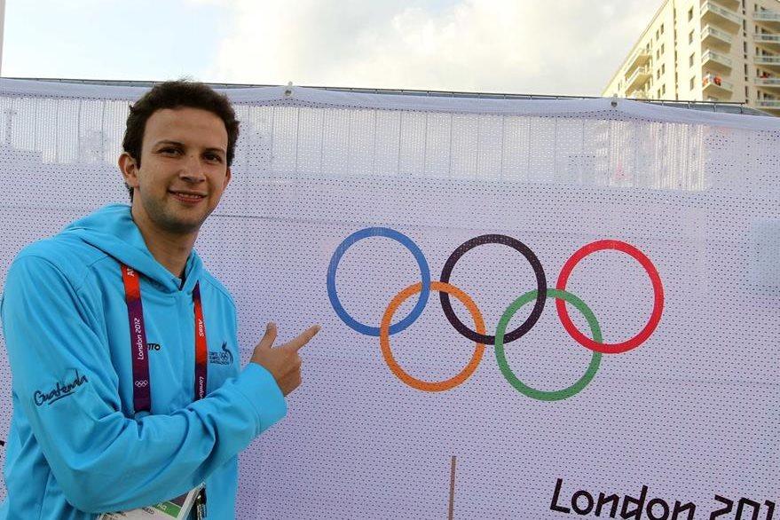 Kevin Cordón en los días anteriores a su participacion en Londres 2012. (Foto: Hemeroteca PL)