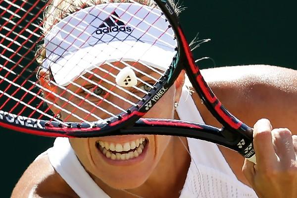 Así se jugará la semifinal femenina — Wimbledon