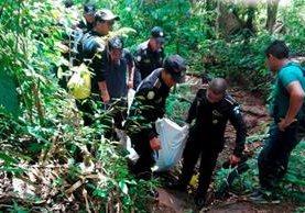 El cadáver de Mario Antonio Gonzales fue localizado en el caserío Nueva Colonia, Malacatán, San Marcos. (Foto Prensa Libre: Whitmer Barrera)