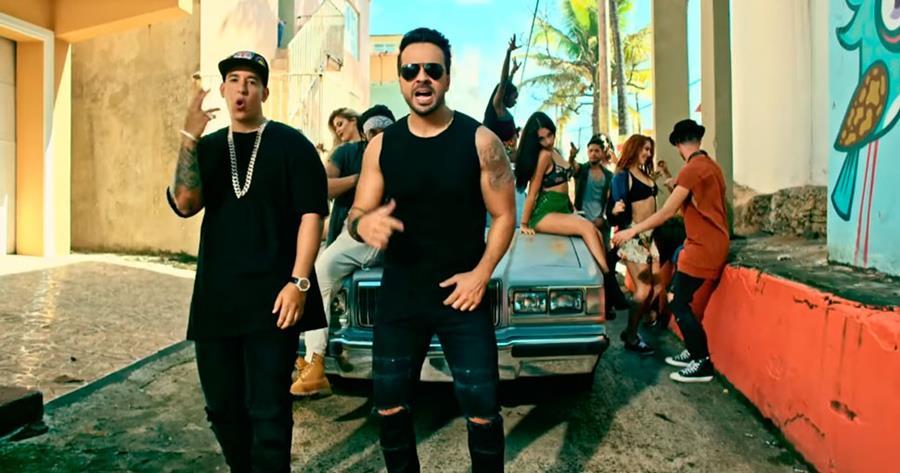 La canción Despacito en seis meses se coronó como la más escuchada a través de streaming. (Foto Prensa Libre: caracoltv.com)