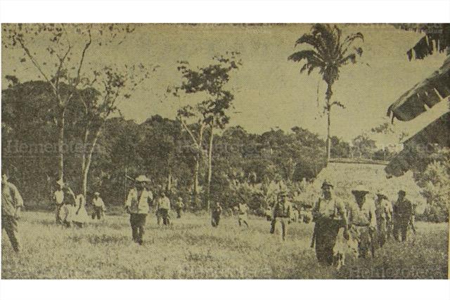 Guerrilleros, en la época de Enrique Peralta Azurdia. (Foto: Hemeroteca PL)
