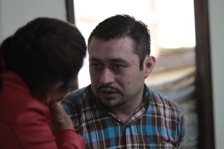 Édgar Avidán de León Rodas, en la audiencia de apertura a juicio, en 2015. (Foto Prensa Libre: Hemeroteca PL)