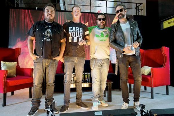 """<p>La banda mexicana Molotov promociona su nueva producción. (Foto Prensa Libre: AFP)<br _mce_bogus=""""1""""></p>"""