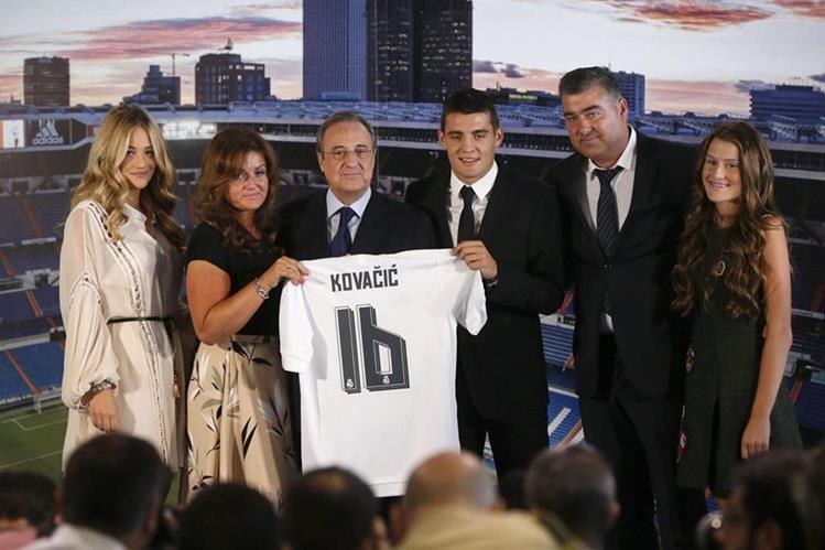 El jugador croata Mateo Kovacic se unió este verano a las filas del Real Madrid. (Foto Prensa Libre: Hemeroteca PL)