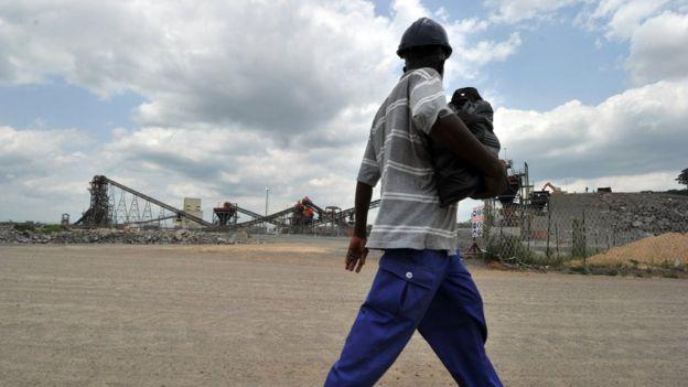 El distrito de Kono es la capital minera del país. AFP