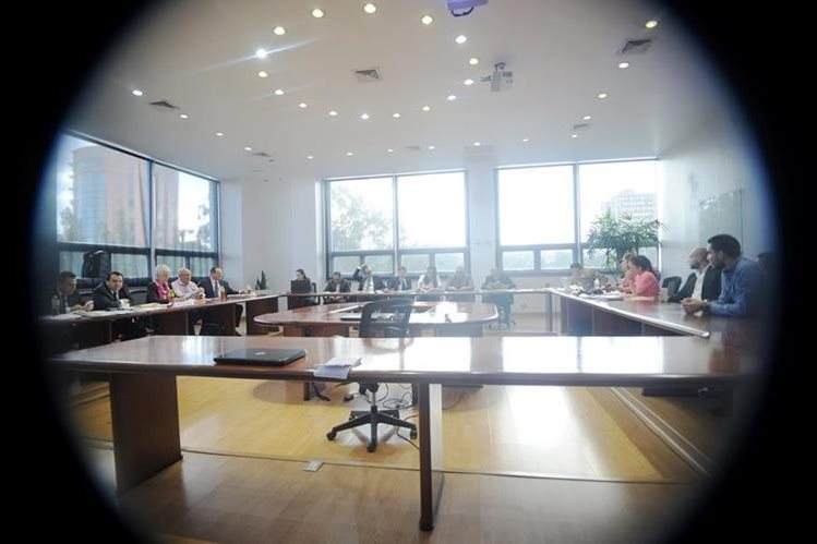 Los miembros del comité ejecutivo no asistieron a la audiencia, únicamente sus abogados. (Foto Prensa Libre: Hemeroteca PL)