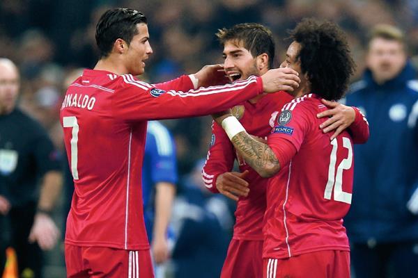 Silva aún no se estrena como goleador con el Madrid pero busca ser desequilibrante. (Foto Prensa Libre:Hemeroteca)