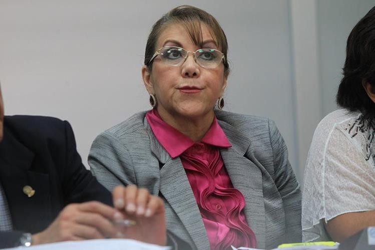 Blanca Stalling deberá regresar a tribunales para enfrentar un nuevo señalamiento en su contra. (Foto Prensa Libre: Hemeroteca PL)