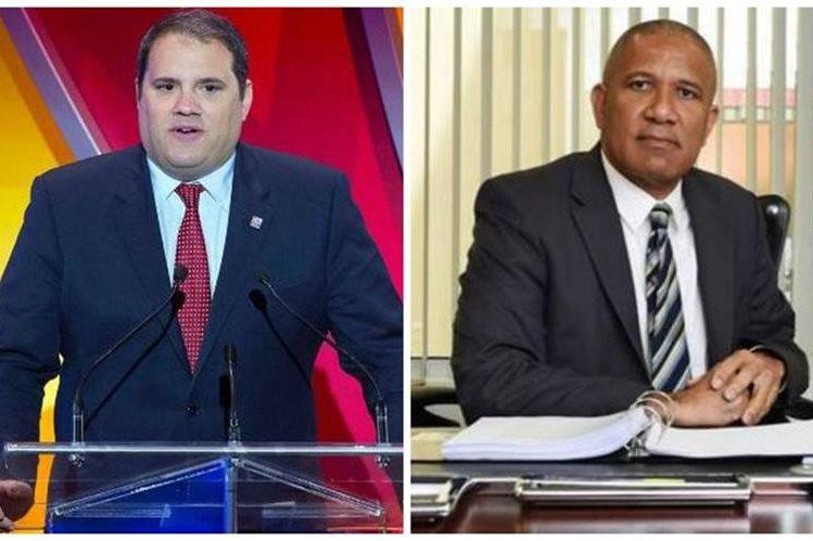 El canadiense Víctor Montagliani y el bermudeño Larry Mussenden buscan la presidencia de la Concacaf. (Foto Redes Sociales).