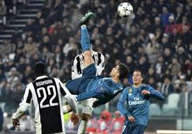Cristiano Ronaldo conquista Turín con una chilena.