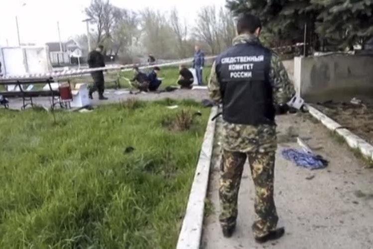 Tres terroristas suicidas se hicieron estallar frente a una comisaría en un pueblo de la región de Stavropol, en el Cáucaso ruso. (Foto Prensa Libre: AP).