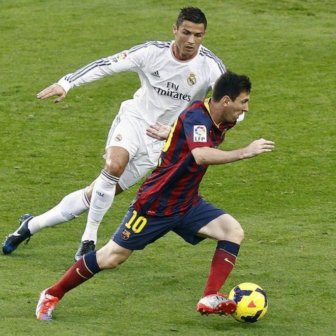 ¿Podríamos ver a Cristiano Ronaldo y Lionel Messi jugar en un mismo equipo? (Getty Images)