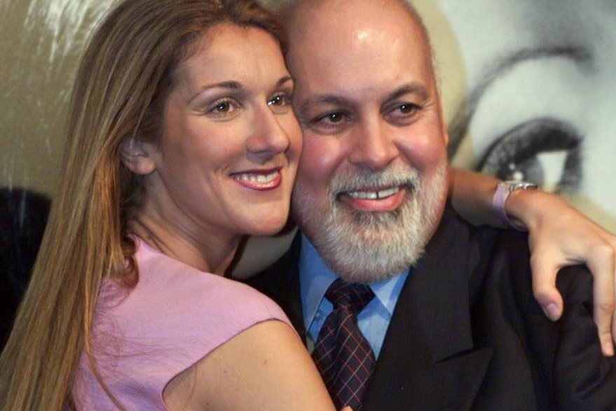 Celine Dion estuvo casada por más de 20 años con René Angélil. (Foto Prensa Libre: AP)