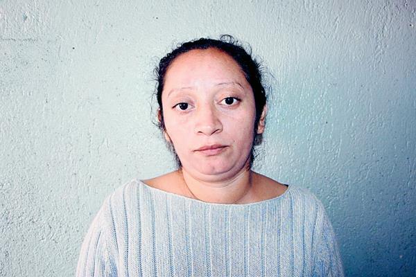 Karla Johanna Vásquez quedó a disposición de un juzgado. (Foto Prensa Libre: PNC)