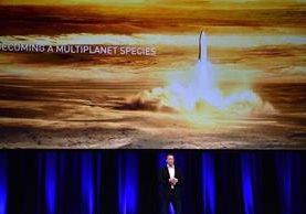 Elon Musk: millonario, emprendedor y fundador de Space X que busca colonizar marte (Foto Prensa Libre. AFP).