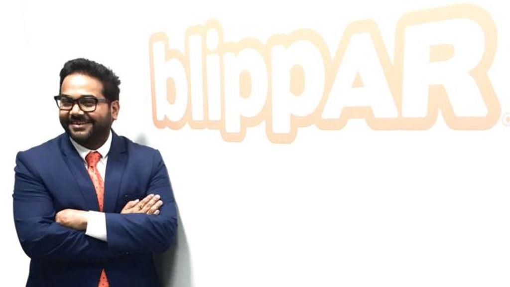 Blippar obtiene fondos gracias a sus asociaciones con marcas como la fabricante de autos Jaguar y de alimentos Unilever. BLIPPAR