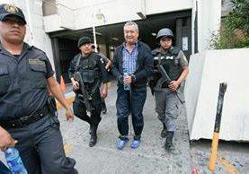 Waldemar Lorenzana, alias el Patriarca, fue extraditado a Estados Unidos en donde se declaró culpable de trasegar droga a dicha nación. (Foto Prensa Libre: Hemeroteca).