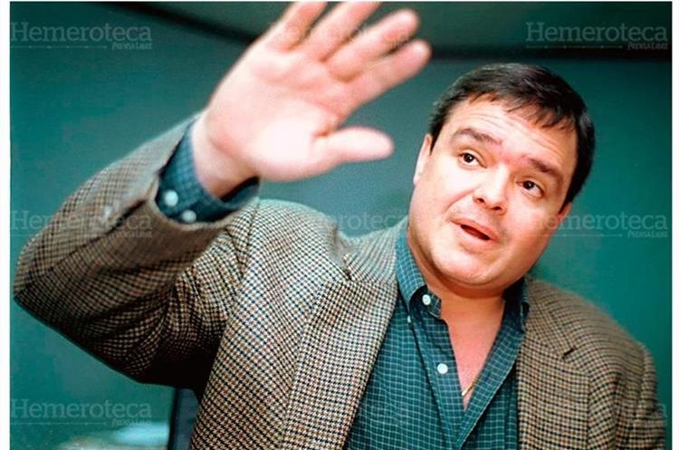 Angelo Bruno Stragá ex gerente del desaparecido Banco del Nororiente, Banoro, habría obsequiado a Portillo la propiedad donde fue construida la mansión. (Foto: Hemeroteca PL)