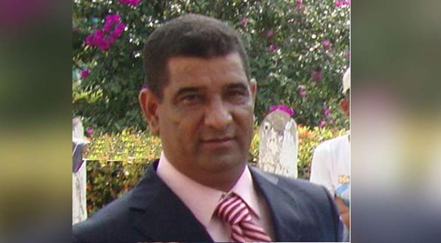<em><em>Santos Gabriel Elvir Arteaga, alcalde del municipio de Jocón en el departamento de Yoro, Honduras. </em>(Foto Prensa Libre: @DiarioLaPrensa).</em>