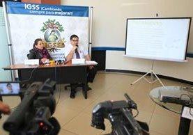 El Igss lanzó una prevención para las maternidades de la institución (Foto Prensa Libre:Esbin García)