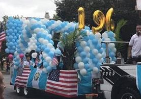 Guatemaltecos en Estados Unidos festejan el aniversario de independencia. (Foto Prensa Libre: Cortesía Gabriela Colop)