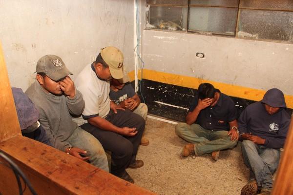 Tres DE los seis liberados en Senahú.