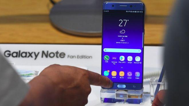 Galaxy Note 7 Fan Edition (FE) es un llamado a los fans de Samsung y una apuesta por las segundas oportunidades. (GETTY IMAGES)