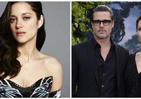 La actriz Marion Cotillard desmiente que haya tenido un romance con el actor Brad Pitt, y que sea la causa de su divorcio con Angelina Jolie. (Foto Prensa Libre: EFE)