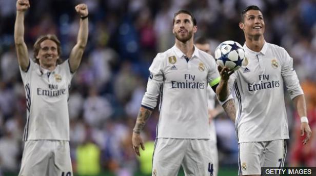Fue una noche histórica para el Real Madrid que se clasificó por séptima vez consecutiva a las semifinales de la Liga de Campeones..