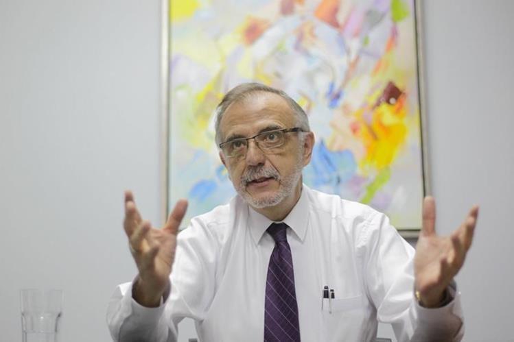 Iván Velásquez estará dos años más frente a la CICIG