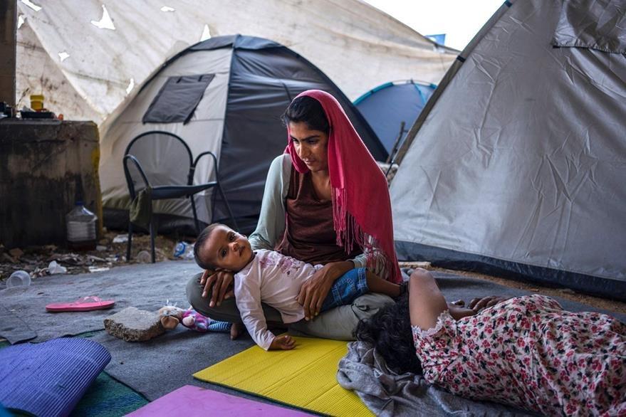 El número de refugiados en el mundo superó los 65 millones de personas en el 2015, según el informe anual de Acnur. (Foto Prensa Libre: AFP).