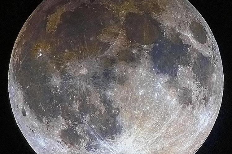 La Luna, el único satélite de la Tierra, se oscurecerá parcialmente. NASA