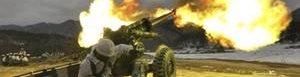 Corea del Norte usa artillería.