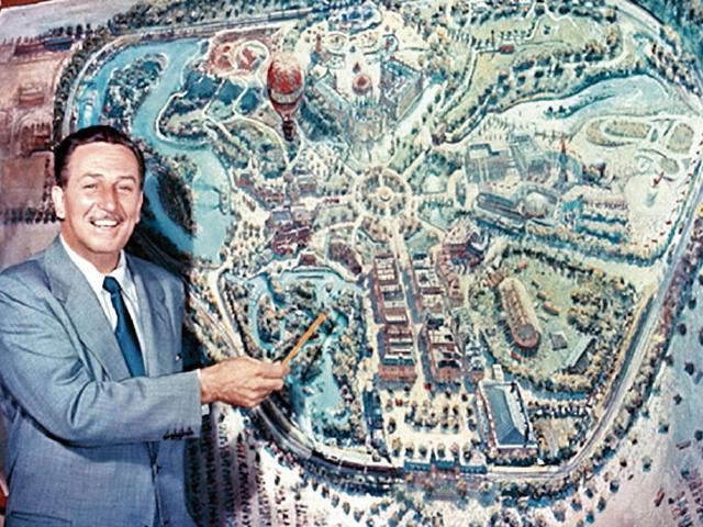 Walt Disney inauguró Disneylandia el 17 de julio de 1955, en California. (Foto Prensa Libre: Disney)