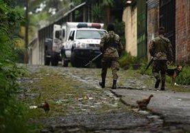 Los ataques mortales contra policías salvadoreños va en aumento.