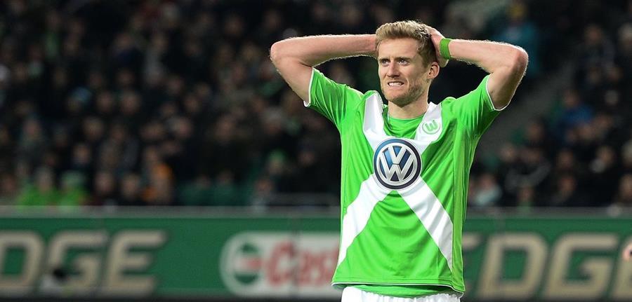 Andre Shürrle aseguró que el Wolfsburgo esperaba enfrentarse contra el Real Madrid. (Foto Prensa Libre: Hemeroteca)