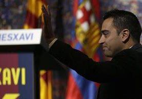 Xavi opinó sobre el problema entre Casillas y del Bosque. (Foto Prensa Libre: Hemeroteca PL)
