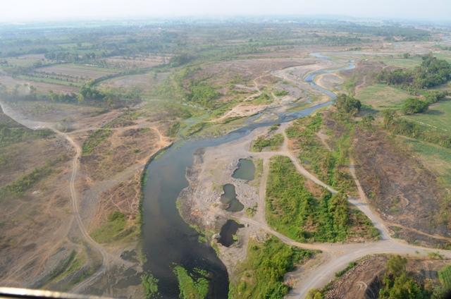 Ministerio de Ambiente advierte de que tomarán medidas contra los responsables. (Foto Prensa Libre: Jorge Tizol)