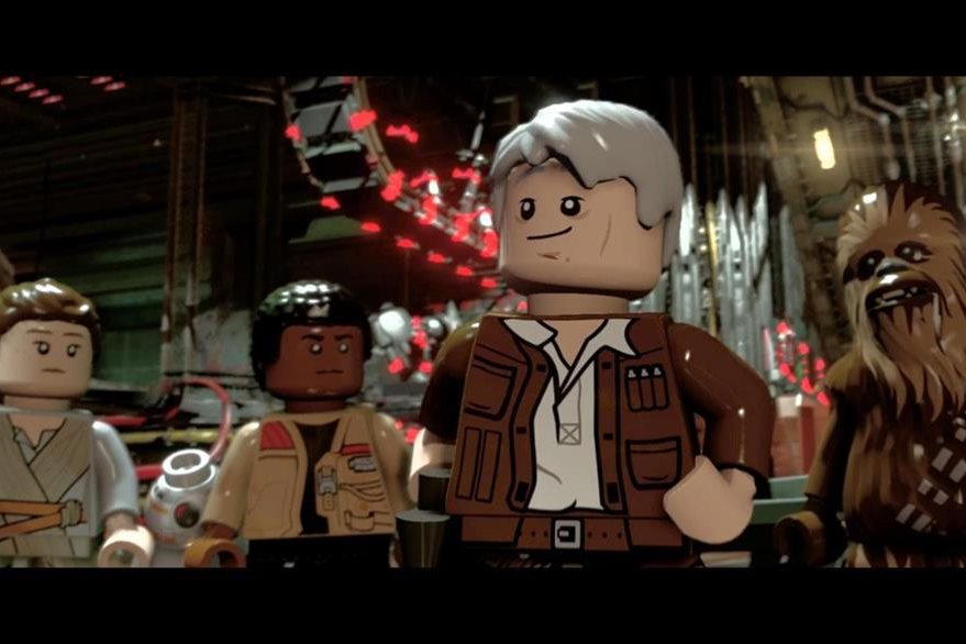 En el juego, Han Solo también tiene la voz del actor estadounidense Harrison Ford. (Foto Prensa Libre: LEGO).