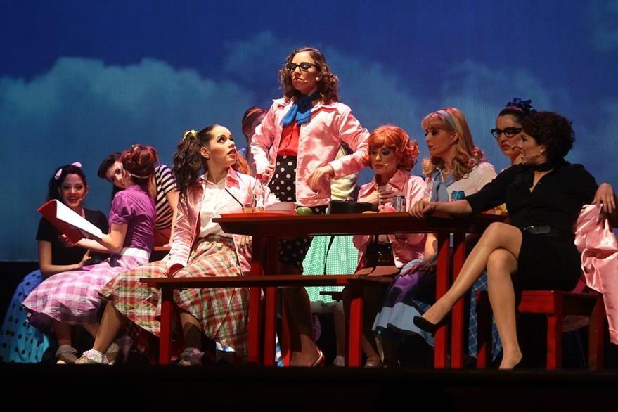 La obra musical tendrá 24 presentaciones en el Teatro Lux. (Foto Prensa Libre: Álvaro Interiano)