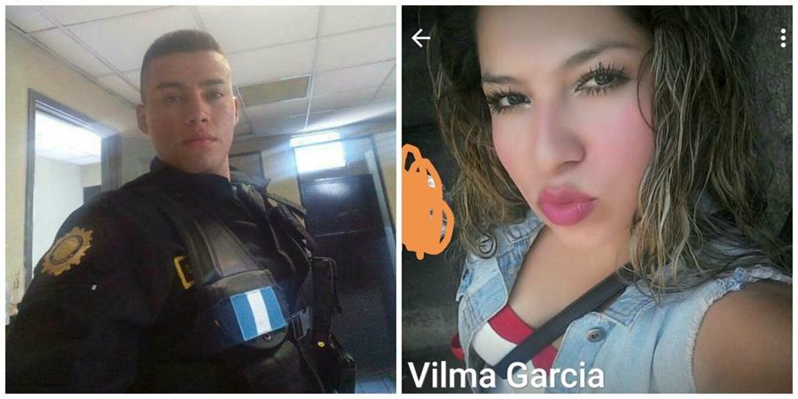Pareja muere en accidente de motocicleta. (Foto Prensa Libre: Hugo Oliva)