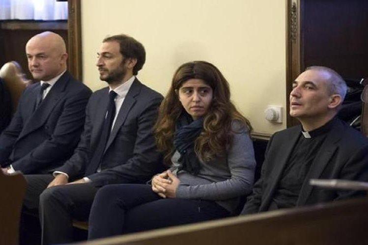 Grupo de acusados por la fuga de documentos confidenciales de la Santa Sede.