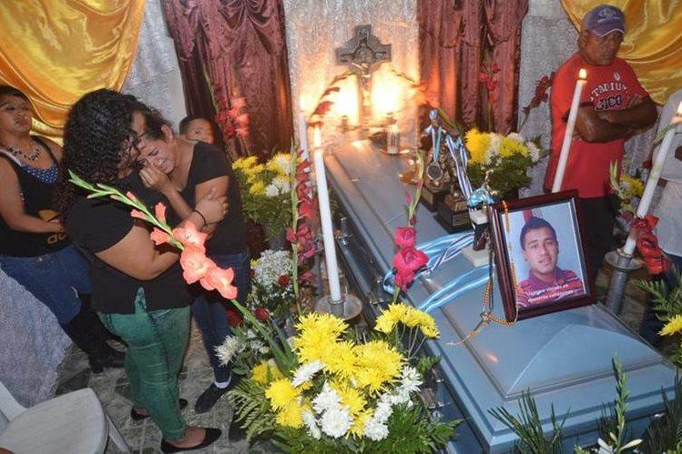 Jaime Gutiérrez, originario de Nueva Santa Rosa, fue uno de los migrantes guatemaltecos que murió en Veracruz, México. (Foto Prensa Libre: Oswaldo Cardona)