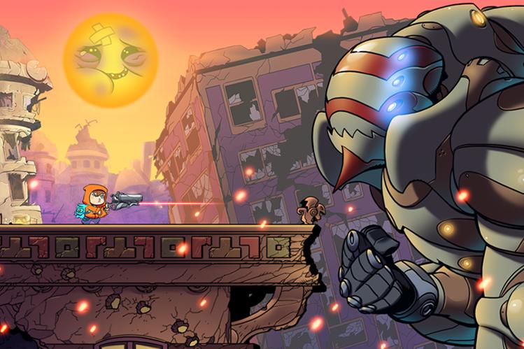 Rise & Shine tiene el estilo de los juegos clásicos de arcade y una historia muy interesante. (Foto: Hemeroteca PL).